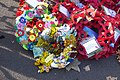 Yoruba Language Group Remembrance Wreath at the Cenotaph, London in 2018.jpg