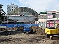Zahradní Město, rekonstrukce prostranství před Cílem (06).jpg