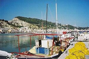 Zakynthos Town with Harbor, Zakynthos island, ...