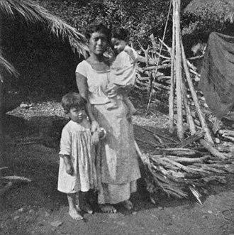 """Zambo - """"Zamba of Mezquititlán"""", circa 1908"""