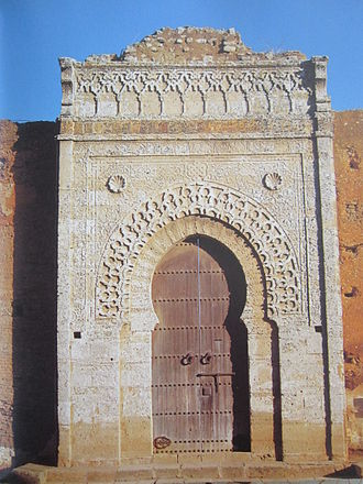 Abu Inan Faris - Zaouiyat Annoussak in Salé, built by Abu Inan Faris in 1356
