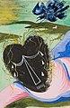 Zdeněk Rykr, Plačící černá hlava (Hlava srdce), 1938, tužka, kvaš 256 x 173 mm, sbírka kresby Národní galerie v Praze.jpg