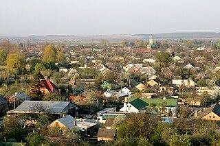 Zdolbuniv City in Rivne Oblast, Ukraine