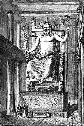 Image illustrative de l'article Statue chryséléphantine de Zeus à Olympie