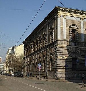 Ivan Zholtovsky - Tarasov House (Spiridonovka Street), 1912