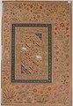 """Dervish Leading a Bear"", Folio from the Shah Jahan Album MET sf55-121-10-9b.jpg"