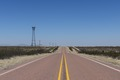 """Forever view"" down Texas Farm Road 1111 in Hudspeth County, Texas LCCN2014631669.tif"