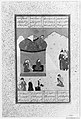 """Laila Visiting Majnun in the Desert"", Folio from a Khamsa (Quintet) of Amir Khusrau Dihlavi MET 18904.jpg"