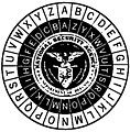 """National Security Agency"" art detail, from cover of Friedman Lectures on Cryptology (page 1 crop).jpg"