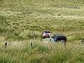 """Off-roaders"" meet near Drum Nantyrhelyg, Ceredigion - geograph.org.uk - 1572172.jpg"