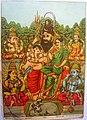 """""""Panch dev"""" (five gods), from Ravi Varma studio, 1910's.jpg"""