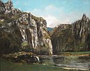 'A Gorge in the Jura' by Gustave Courbet, Cincinnati Art Museum.JPG