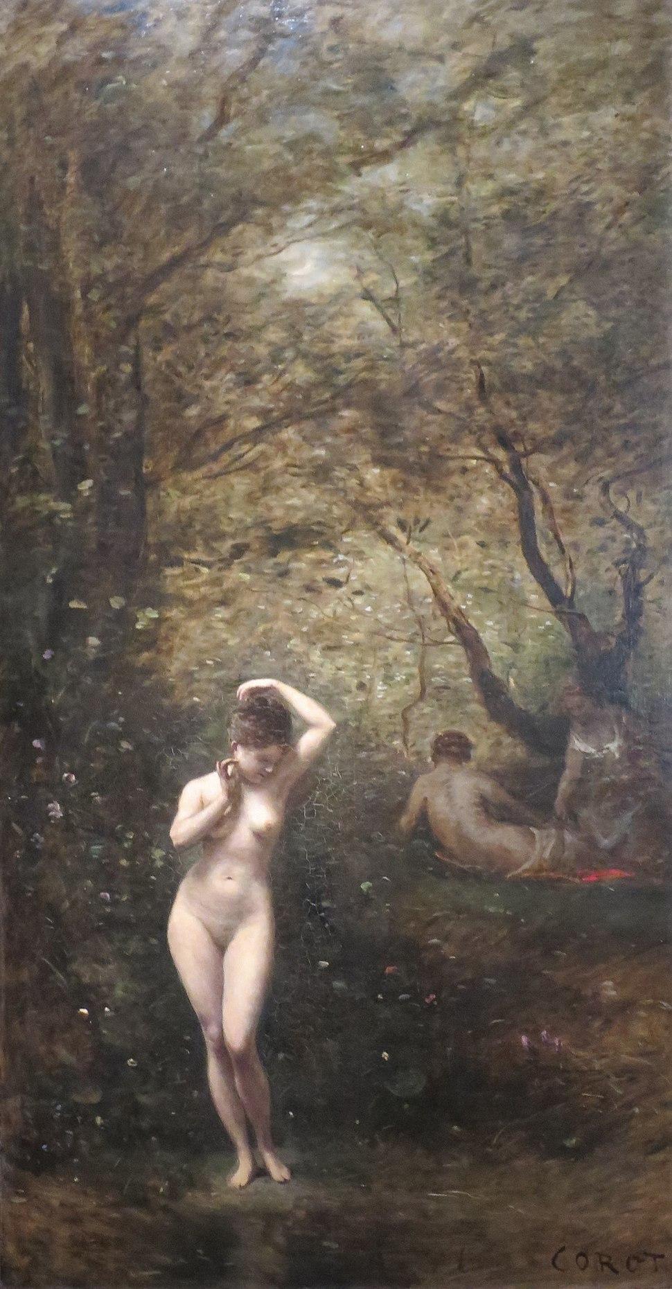 'Diana Bathing' by Jean-Baptiste-Camille Corot, 1873-74, Pushkin Museum