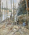 'The Caulker' by Childe Hassam, Cincinnati Art Museum.JPG