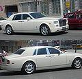 (No. plate Jin-A-00007) White Rolls-Royce Phantom sedan, Tianjin, P.R.China.JPG