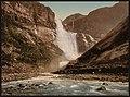 (Skjeggedalsfos, II, Odde (i.e. Odda), Hardanger Fjord, Norway) LOC 3175019524.jpg