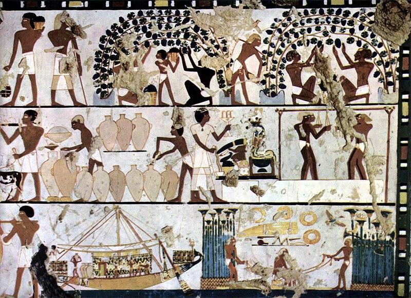 Archivo:Ägyptischer Maler um 1500 v. Chr. 001.jpg