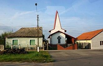 Becicherecu Mic - Image: Église 03565