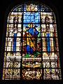 Église Saint-Germain de Pantin, vitrail 01 sanctus Marcus.JPG