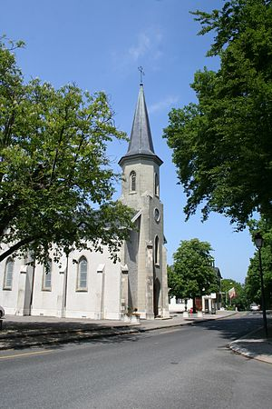 Pregny-Chambésy - The Catholic Church or Pregny-Chambésy.