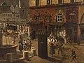 Étienne Bouhot - La place et la fontaine du Châtelet - P1286 - musée Carnavalet - 11.jpg