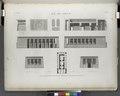 Île de Philæ. Plan, élévations, coupes et détails du temple de l'ouest (NYPL b14212718-1267849).tiff