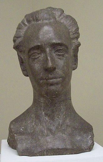 Óscar Esplá - Bust of Óscar Esplá by Vicente Bañuls, 1923