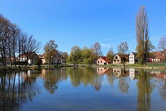 Únehle - Image: Únehle, common pond 2