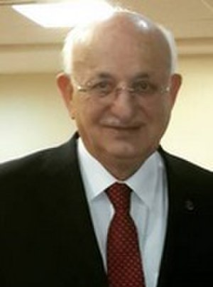 Speaker of the Grand National Assembly - Image: İsmail Kahraman Ankara cropped
