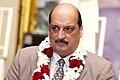 Аджай Малхотра на церемонии освящения начала строительства нового храма.jpg