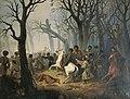 А. А. Козлов. Смерть генерал-майора Слепцова в бою на берегу реки Гехи 10 декабря 1851 года.jpg