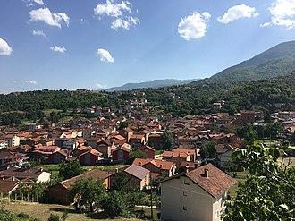 Labuništa - Panoramic view of the village
