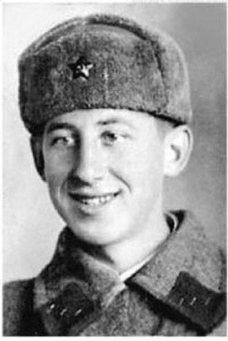 Vladimir Basov - Image: Владимир Басов на фронте 01