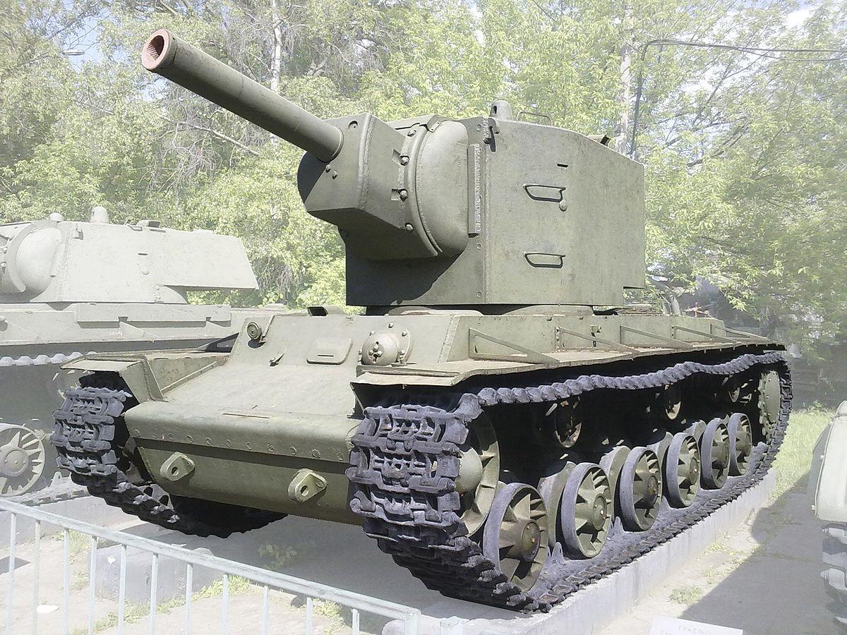 схема танкового тягача на базе кв