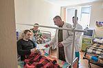 Командування Національної гвардії України відвідало поранених військовослужбовців на передодні Великодня 3258 (16463177624).jpg