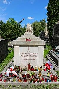 Львів, Личаківське кладовище, Гробниця, в якій похована Запольська Г., польська письменниця і драматург.jpg