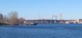 Мост в районе Серного острова в процессе постройки.png