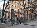 Немецкая лютеранская церковь св. Анны, ограда по Кирочной02.jpg