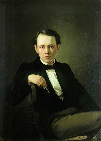 Vasily Perov - Image: Перов Автопортрет