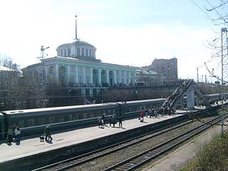 Murmansker Bahnhof