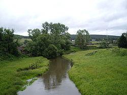 Река вьяс летом