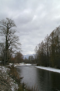 Tym River, Sakhalin river in Russia