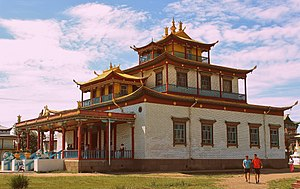 Buddhism in Buryatia - Dzogchen Dugan (temple) at the Ivolga Datsan, 2012