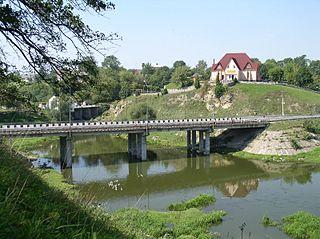 Chudniv City in Zhytomyr Oblast, Ukraine