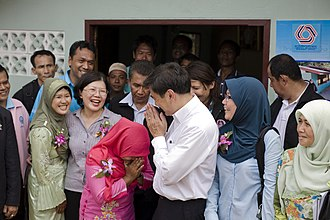 Culture of Thailand - Thai greeting, the smile is an important symbol of refinement in Thai culture.