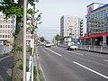 北海道道100号函館上磯線・北海道道347号赤川函館線交点(起点側から).jpg