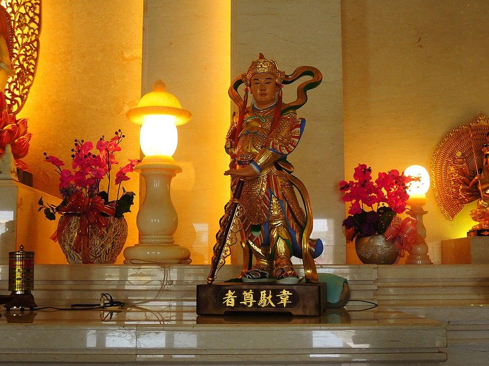 大池西林寺 (9)韋馱尊者