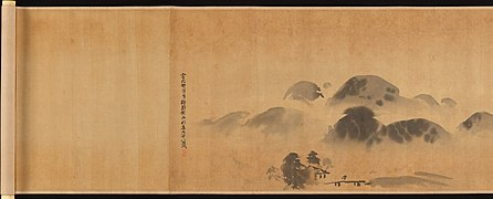 "狩野探幽筆 『画苑』-Famous Themes for Painting Study Known as ""The Garden of Painting"" (Gaen) MET DP237188.jpg"