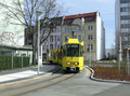 006 tram 130 turning into Lutherstraße.png