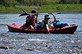 02018 0313 Kajaktour auf dem Sanfluss durch die Ost-Beskiden, Oberes Santal in Trepcza (Miedzybrodzie).jpg